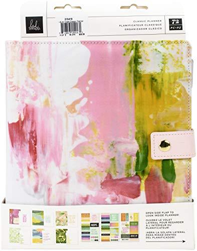 Heidi Swapp PLANNER HEIDI S 8X10 CLÁSICA, Art Walk - Páginas mensuales en blanco, talla única