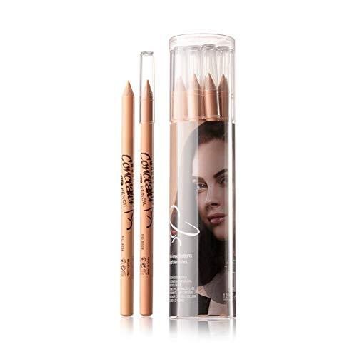 CawBing 12 Crayon correcteur Couvercle étanche longue durée Imperfections Facile à utiliser Wonder Pencil Outil de maquillage pour le visage
