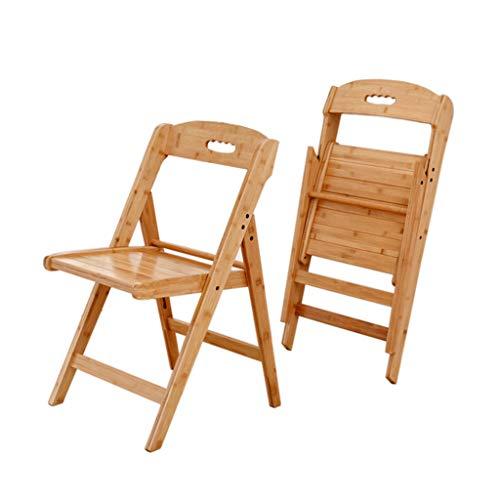 Sillas de Madera para Patio Plegables al Aire Libre, Silla de Madera para Exteriores o para Interiores, sillón de Madera, sillas de Comedor para Patio, Patio, terraza, césped, jardín