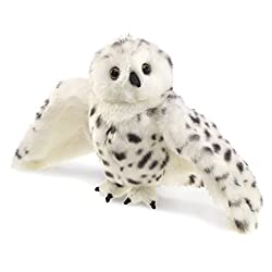 Folkmanis Puppet Snowy Owl