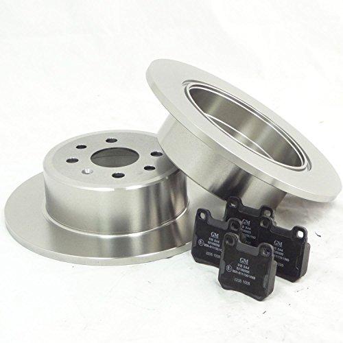 véritable pour Vauxhall Vectra 1.6 1.8 2.0 2.2 Disques de frein arrière & Ensemble de tampons