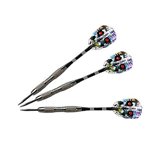 KJSEF Darts Head Darts Target Entertainment Juegos de Aluminio Alloy + Pet No es un Juguete para niños