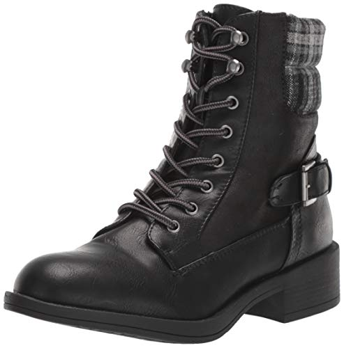Rock & Candy Women's Jerrie Fashion Boot, Black, 8.5 Medium US