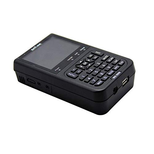 SATlink WS-6906 3.5/'/' DVB-S FTA Data Digital Satellite Signal Finder Meter Black