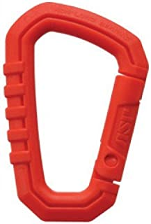 ASP Polymer Carabiner, Neon Orange