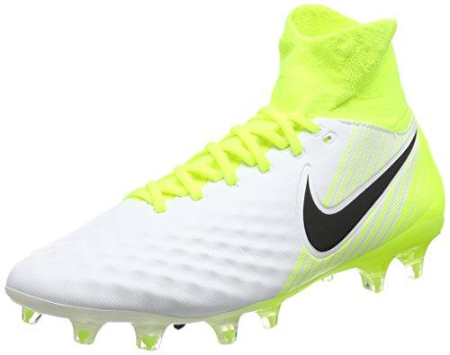 Nike Magista Orden II Fg, Scarpe da Calcio Uomo, Bianco (White/Black-Volt-Pure Platinum), 41 EU