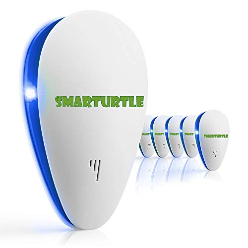 SMARTURTLE 【2020 Upgraded】 Ultrasonic pest Repeller Plug in Indoor Insect Repellent Electronic pest Control Mouse Bug Fly Electric Mosquito Repellent mice Rodent Cockroach Destruct Roach Defender