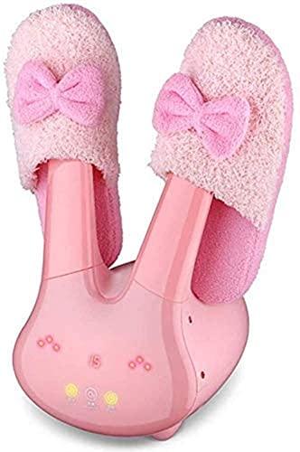 JIEZ Secador de calientabotas eléctrico Secador de Zapatos silencioso para Tus Zapatos Botas Guantes Elimina el Olor Bacterias Molde Secador de Guantes (Color, A) Seca multifunción, B