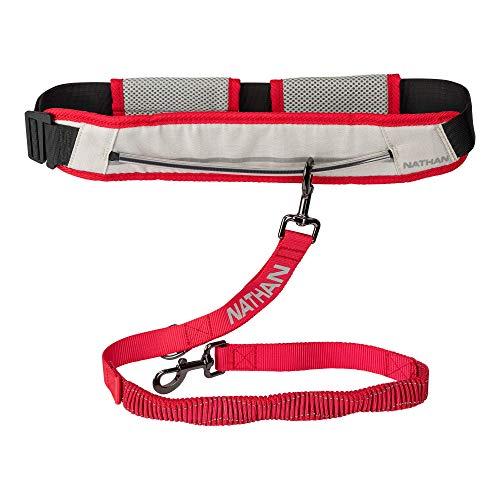 Nathan Hundeleine mit Läufer-Gürtel für K9, zum Joggen, Walken, Wandern, Laufen mit Hund.