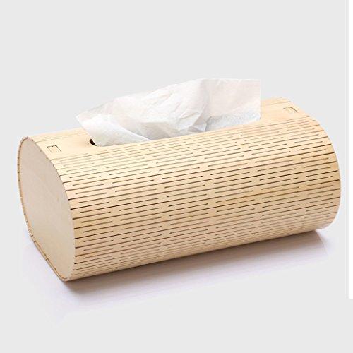 CS Creatief papier draw box papieren tafelpapierdoos woonkamer karton huishouden houten towel tube