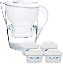 BRITA Marella XL Water Filter Jug 3.5L with 4 x MAXTRA+ Filters White