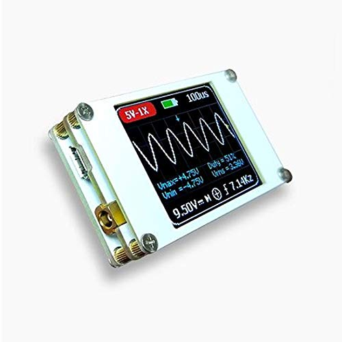 Tragbares ultrakleines Digitaloszilloskop 1M Bandbreite 5M Abtastrate Digitales Oszilloskop-Kit Mini Pocket Handheld