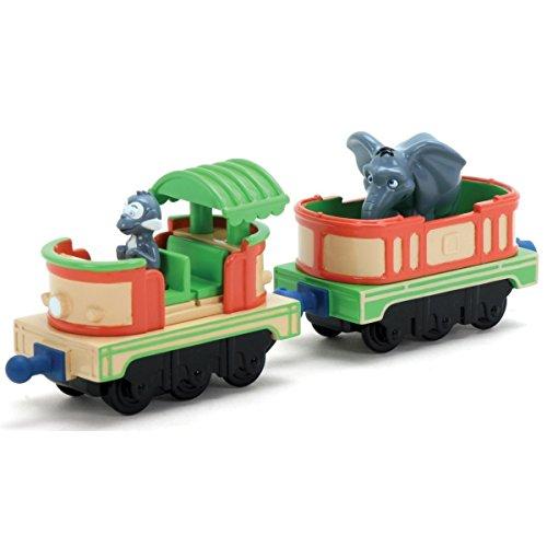 Chuggington Die-Cast – Les Wagons du Safari de Mtambo – Véhicules Miniatures 6 cm