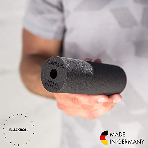 Blackroll Selbstmassagerolle Mini, Schwarz, BRBMBKSAC - 6