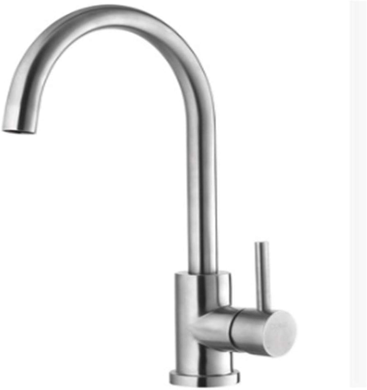 Kitchen Taps Faucetmodern Kitchen Sink Tapsstainless Steel304 Stainless Steel Kitchen Faucet