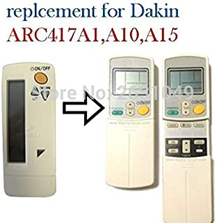 Ochoos - Mando a distancia para aire acondicionado DAIKIN ARC417A1 ARC417A10 ARC417A15 ARC423A18, ARC423A2 ARC412A1, ARC412A2 412A3