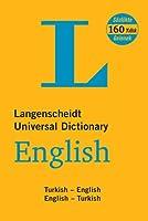 Langenscheidt English-Turkish, Turkish-English Universal Dictionary