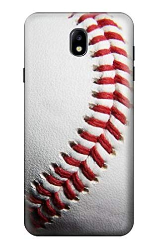 R1842 New Baseball Case Cover for Samsung Galaxy J7 (2018), J7 Aero, J7 Top, J7 Aura, J7 Crown, J7 Refine, J7 Eon, J7 V 2nd Gen, J7 Star