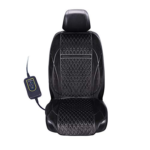 Upgraded Heated Seat with Intelligent Temperature Controller and 45 Minutes Auto-Off Timer(Black)