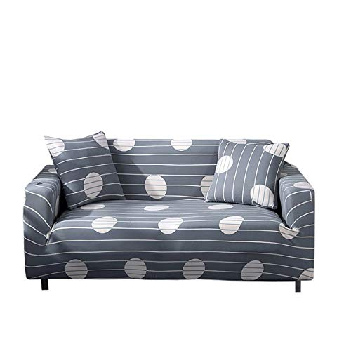 Yunchengyunxiangtong Stretch Couch Abdeckung Stoff-Leder-Sofa Sofa-Kissen-Stoff-Sofa-Abdeckung Elastic All-Inclusive-Universal-Anti-Rutsch-Sofa-Abdeckung (Size : Double)
