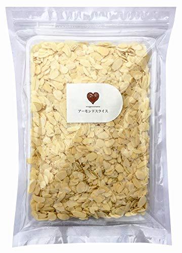 生 アーモンドスライス (薄切り) 500g 製菓用 カリフォルニア産 無添加 無塩 無植物油