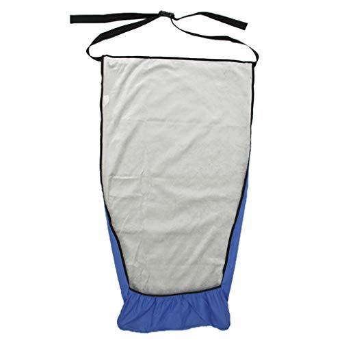 Hellery Universal Warmes Plüschfutter Fußsack für Rollstuhl, Wasserfest, 2 Größen Optional - M