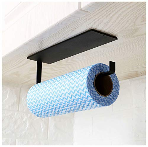 Kitchen Paper Towel Holder Under Cabinet - Toilet Roll Holder Wall Mounted...