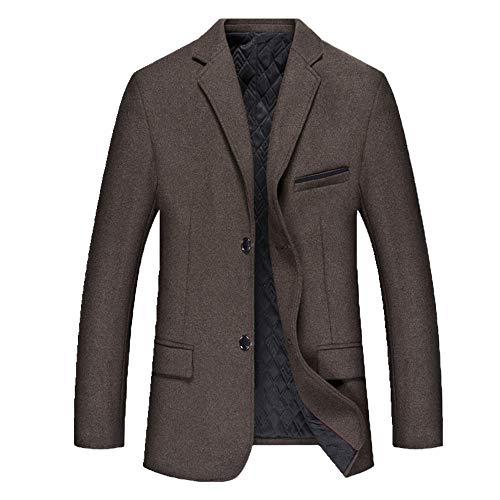 N\P El otono y el invierno de los hombres traje mas de algodon casual traje de los hombres de los hombres gruesa