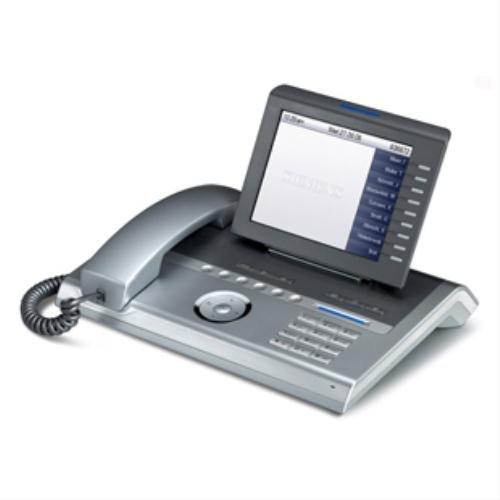 Siemens OpenStage 80 HFA Gbit silver-blue IP- Systemtelefon