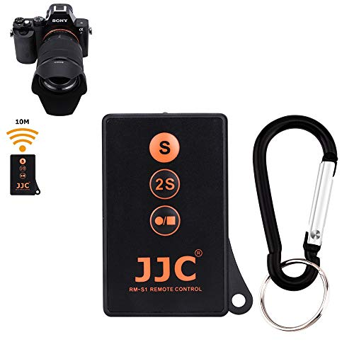 JJC Infrared Wireless Camera Shutter Remote Control Commander with Vlog Video Start Stop Function for Sony A6600 A6500 A6400 A6300 A6000 A7SIII A7RIV A7RIII A7III A7RII A7SII A7II A7R A7S A7 A9 A9II