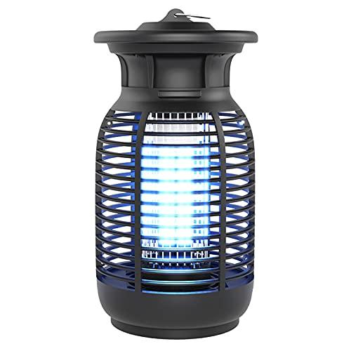 MERIGLARE Lámpara de Mosquito UV 3000V Fly Bug Zapper Trap Patio House Deck Porche