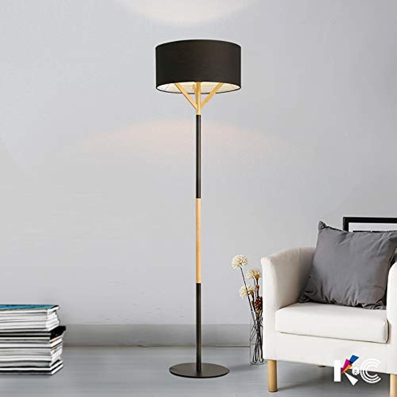 JINSH Home Einfache und Stilvolle Holzkunst Tischlampe Wohnzimmer Schlafzimmer Studie Studie Studie Stoff Stehlampe B07JX7TXRR   Angenehmes Aussehen  832fe9