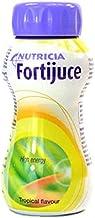 24x Fortijuce Fortijuice Tropical High Energy Juice Supplement 200ml Bottle Estimated Price : £ 66,98