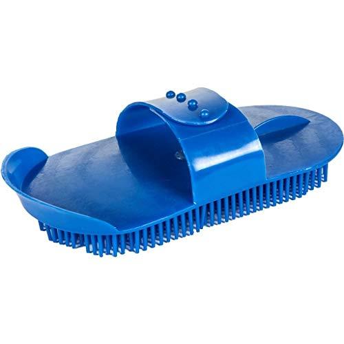 HKM 63146500 Plastik - Massagestriegel, verstellbar, M, blau