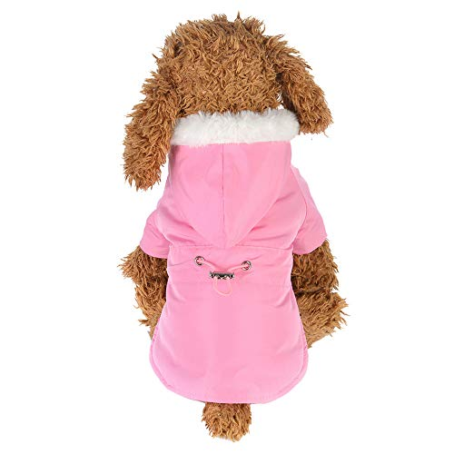 Rawdah_Mascota Ropa para Perros Peque?os Abrigos Camiseta Jerseyss Moda Mascota Cómoda Ropa Cachorro Cintura Abajo Chaqueta De Cachemira Abrigo Chaleco