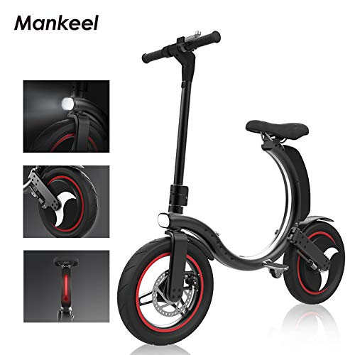 Manke Folding Electric Scooter 350W | Electric Scooter for Adults fast 14 inch | E Scooter 25km/h | 7.8Ah