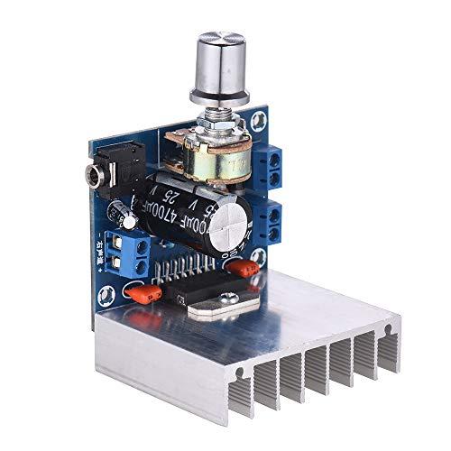 Muslady Módulo amplificador audio estéreo
