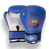 Senston Guantes de Boxeo Niño 4 6 OZ Guante de Entrenamiento Guantes de Kickboxing para Boxeo, Artes Marciales, MMA, Boxing Gloves de Combate