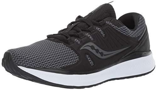 Saucony Men's VERSAFOAM Inferno Running Shoe, Black/Charcoal, 12.5 M US