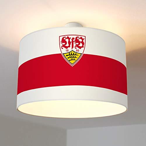 VfB Stuttgart Deckenleuchte, Wappen, E27; VfB Stuttgart Fanartikel