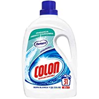 Colon Nenuco - Detergente para lavadora, adecuado para ropa blanca y de color, formato gel - 31 dosis
