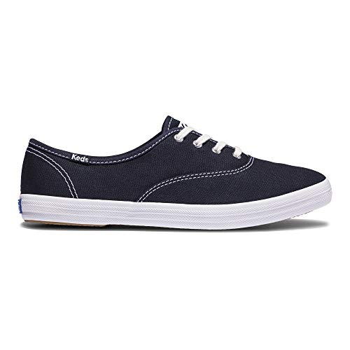 Keds Damen CHAMPION ORG CORE CANVAS Sneaker, Navy, 39.5 EU