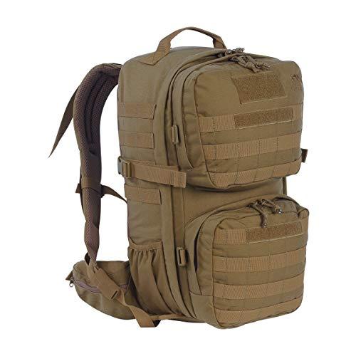 Tasmanian Tiger TT Combat Pack MKII Molle-Kompatibler EDC-Daypack mit vielen Fächern Army-Rucksack für Damen und Herren 22l Volumen, Coyote Brown