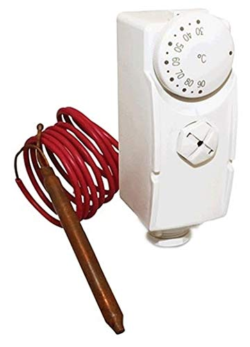 Salus Controls Rohr - Anlegethermostat Salus AT10F mit Fernfühler