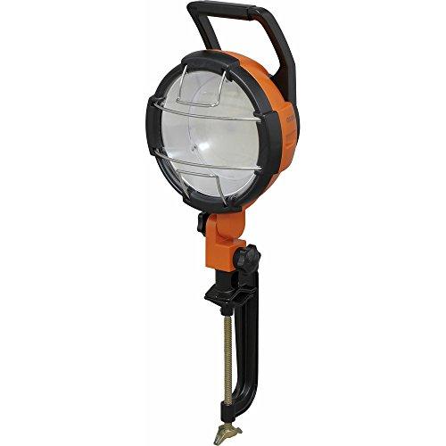 アイリスオーヤマ LED ワークライト 投光器 作業灯 防雨型 屋内・屋外兼用 クランプライト 5500lm LWT-5500C