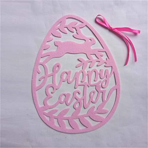 Garispace, decorazione da appendere a forma di uovo, per matrimonio, festa di Pasqua, decorazione da appendere alla parete di Pasqua