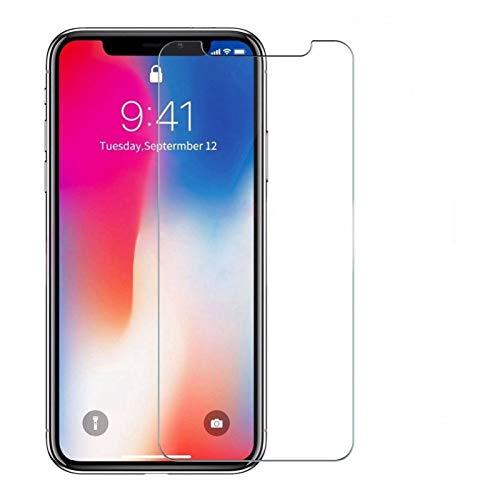 HUIY Protector de Pantalla Templado Cristal de la Pantalla Protector for el iPhone X XS 11 Pro MAX XR 7 8 Película de telefonía (Color : For 6 Plus 6s Plus, Size : Tempered Glass)