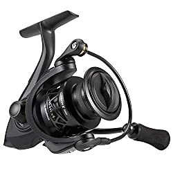 top rated Piscifun Carbon X Spinning Reel – Up to 5.7 oz, High Speed 6.2: 1 Gear Ratio, Carbon Frame and… 2021