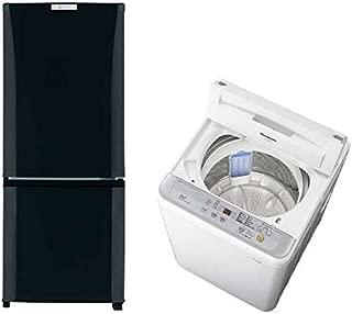 【即日発送】アクティーおまかせ冷蔵庫洗濯機2点セット 一人暮らし向け (冷蔵庫135L~150L 洗濯機4.2k~5.0k)安心の保証付き! [並行輸入品]