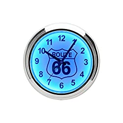 Route 66 LED Wall Clock